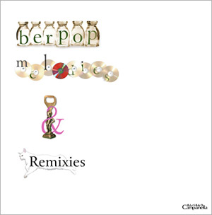 berpop melodies & remixiesのジャケット